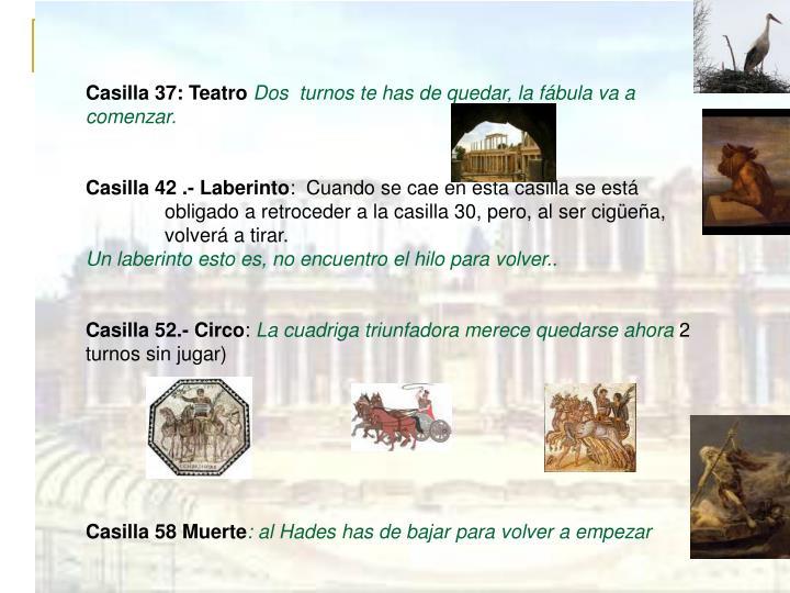Casilla 37: Teatro