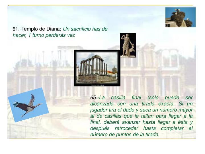 61.-Templo de Diana: