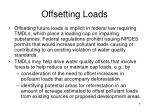 offsetting loads