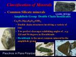 classification of minerals2