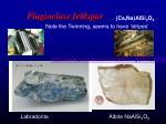 plagioclase feldspar