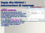 hapja dhe k rkimi i dokumenteve t rezervuar1