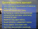 general biocriteria approach1