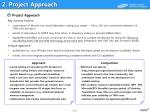 2 project approach