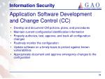 application software development and change control cc