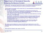 department of homeland security enterprise architecture content1