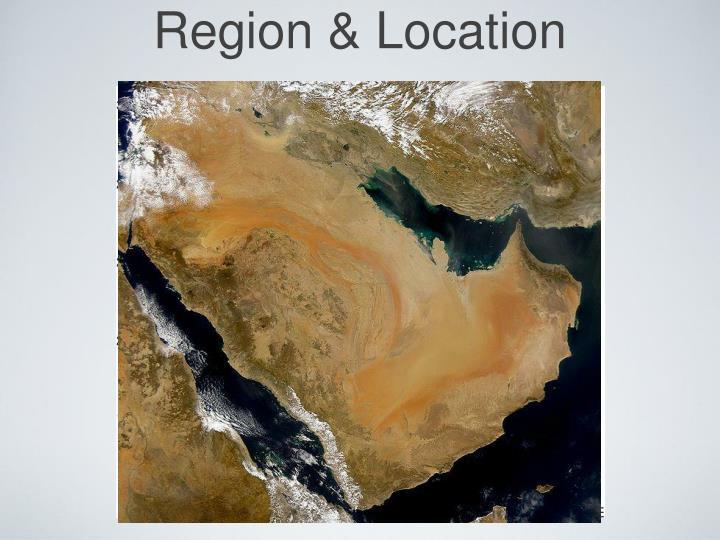 Region & Location