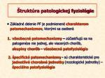 trukt ra patologickej fyziol gie