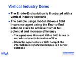 vertical industry demo