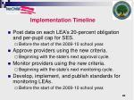 implementation timeline1