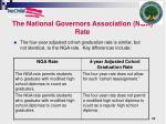 the national governors association nga rate