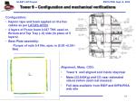 tower 9 configuration and mechanical verifications