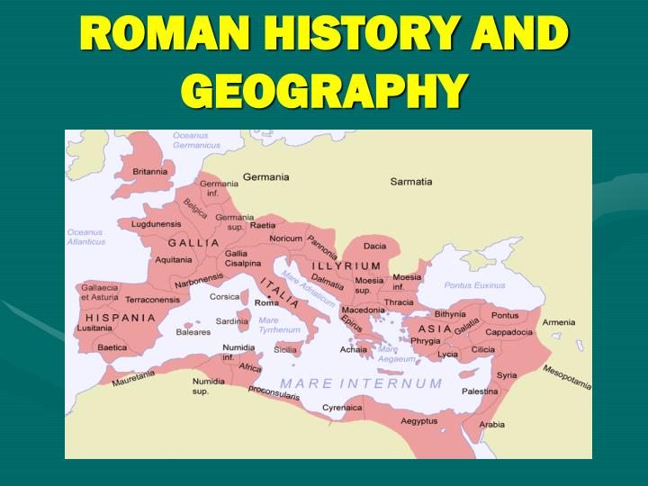 roman history and geography n.