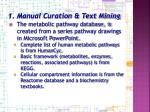 1 manual curation text mining