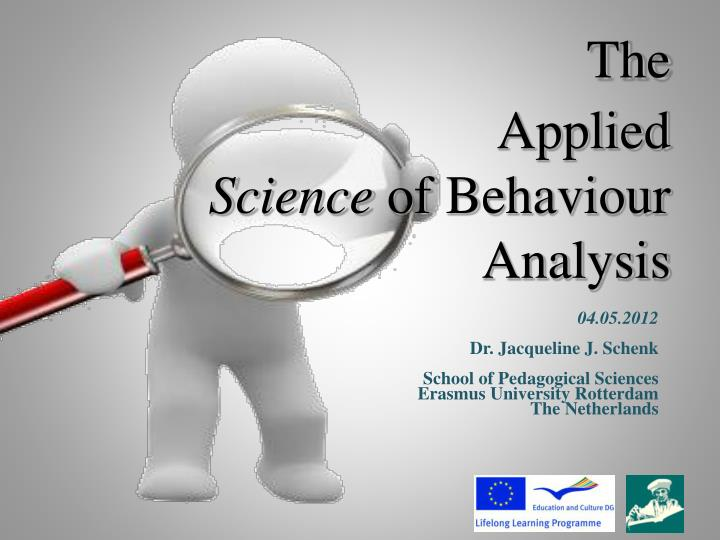the applied science of behaviour analysis n.