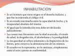inhabilitacion