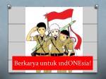 berkarya untuk 1ndonesia
