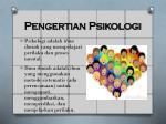 pengertian psikologi
