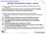 920 mhz channelization in japan revised