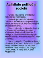 activitate politic i social
