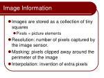 image information