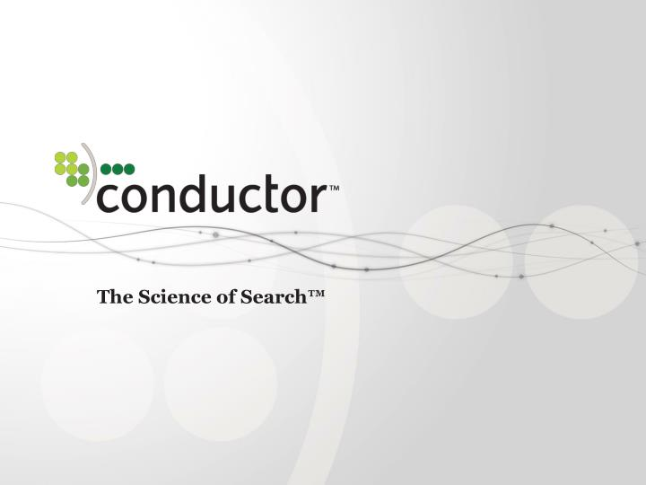the science of search n.