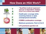 how does an hsa work1