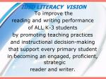 iusd literacy vision