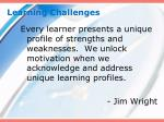 learning challenges