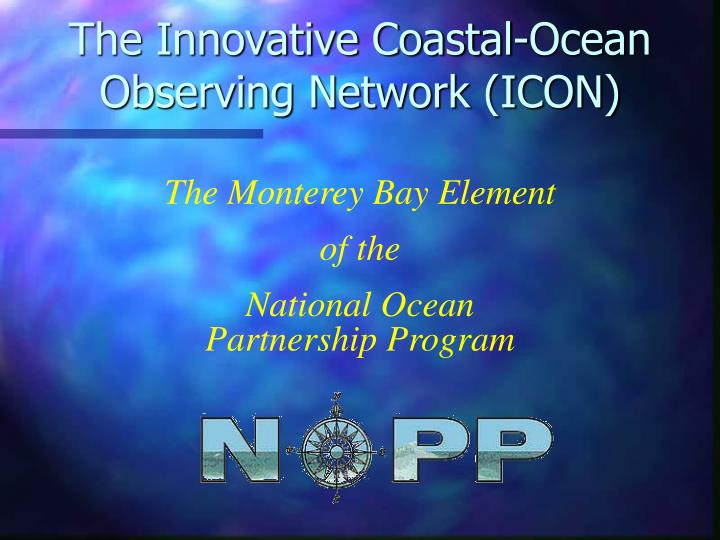 the innovative coastal ocean observing network icon n.