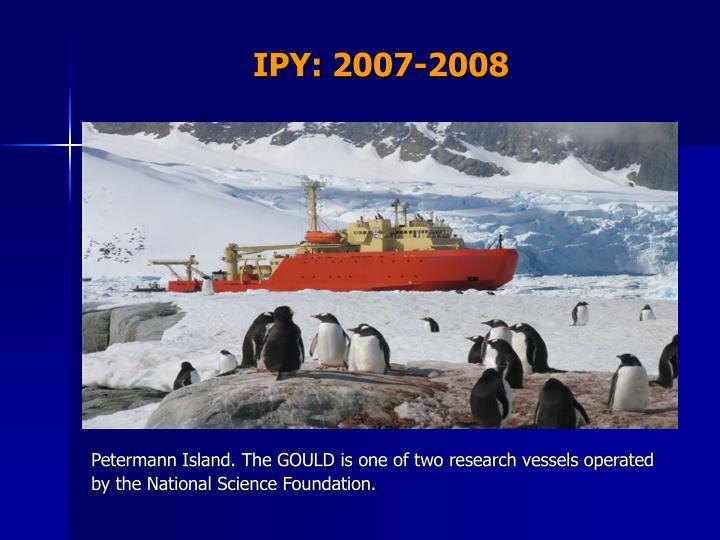 IPY: 2007-2008