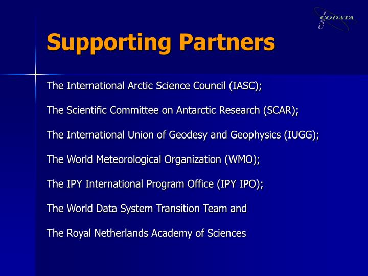 Supporting Partners