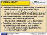 physical ability