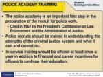 police academy training