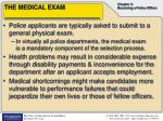 the medical exam