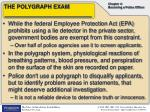 the polygraph exam