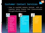 customer contact services
