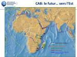 cab le futur vers l est