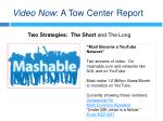 video now a tow center report10