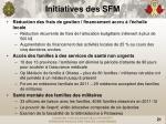 initiatives des sfm