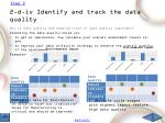 2 d iv identify and track the data quality