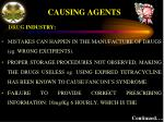 causing agents