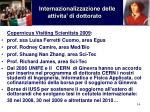 internazionalizzazione delle attivita di dottorato