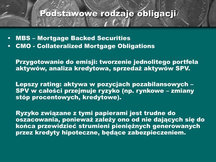 Podstawowe rodzaje obligacji