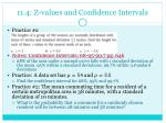 11 4 z values and confidence intervals1