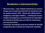bruxismo e microcorrentes