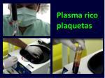 plasma rico plaquetas