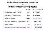 lisaks m ned arvud eesti statistikast ehk meditsiinit tajate palgast