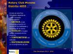 rotary club moreno distrito 48551