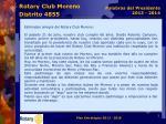 rotary club moreno distrito 48552